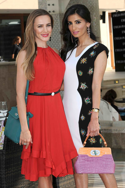 Adelya B and Rosemin  Manji
