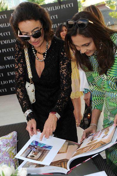Laudomia Pucci and Deeni Jethwani