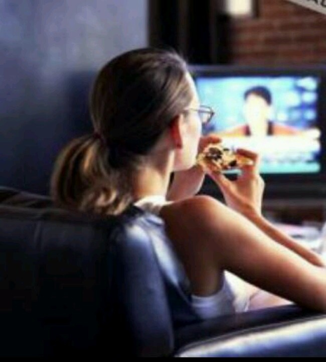 Healthy Swaps, Watching TV Eating