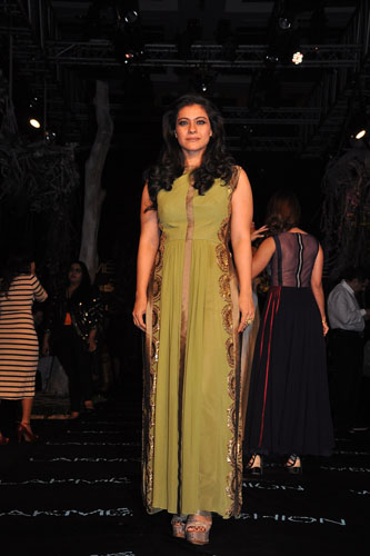Kajol Devgan wearing a Manish Malhotra outfit