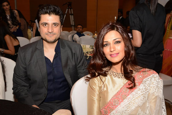 Godie Behl and Sonali Bendre