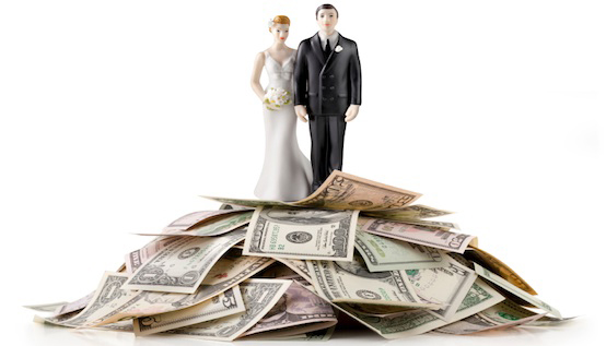 bride-groom-money
