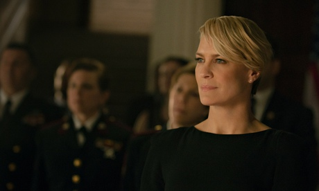 Claire Underwood (Robin Wright) ... The photo doesn't lie, but the photographer might.