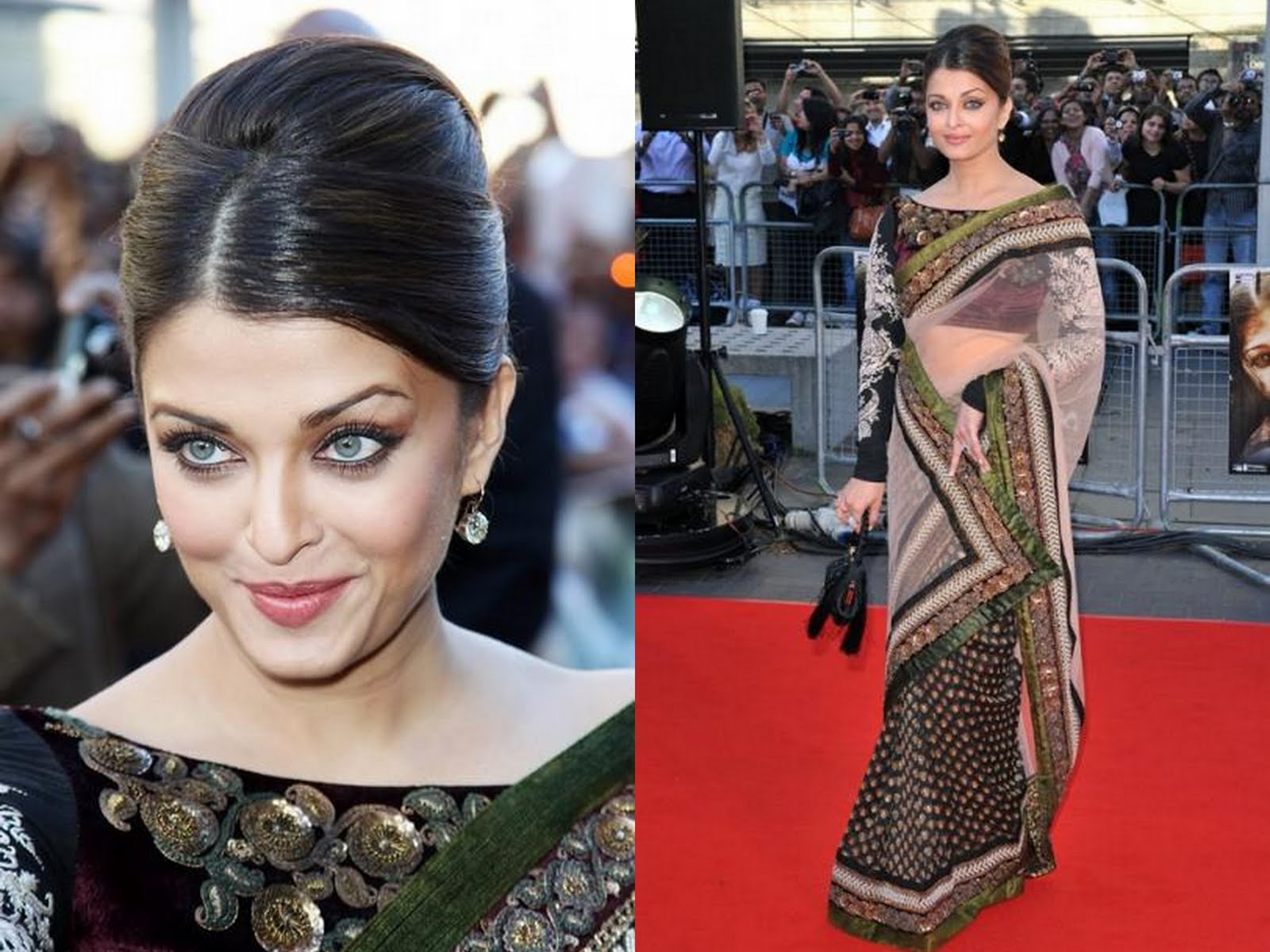 Aishwarya-Rai-in-Sabysachi-saree-at-Raavan-Premeire