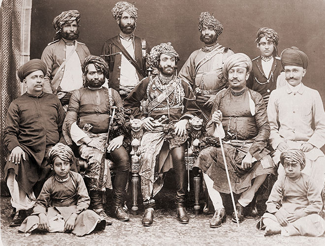 Nawab family picture from 1912