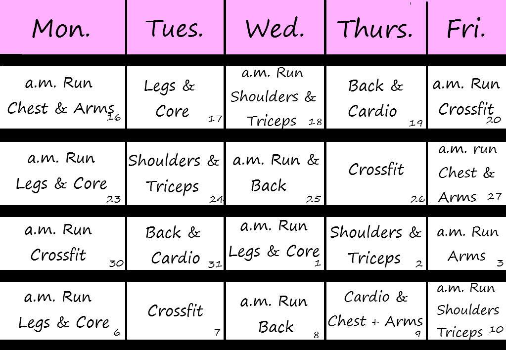 workout-calendar