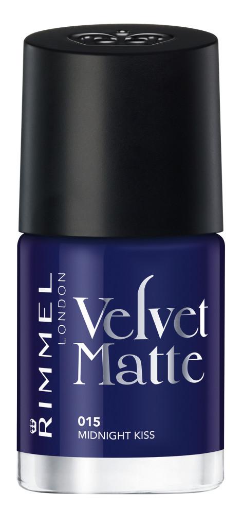 Rimmel - Velvet Matte Nail Polish - Midnight Kiss #015 - AED26