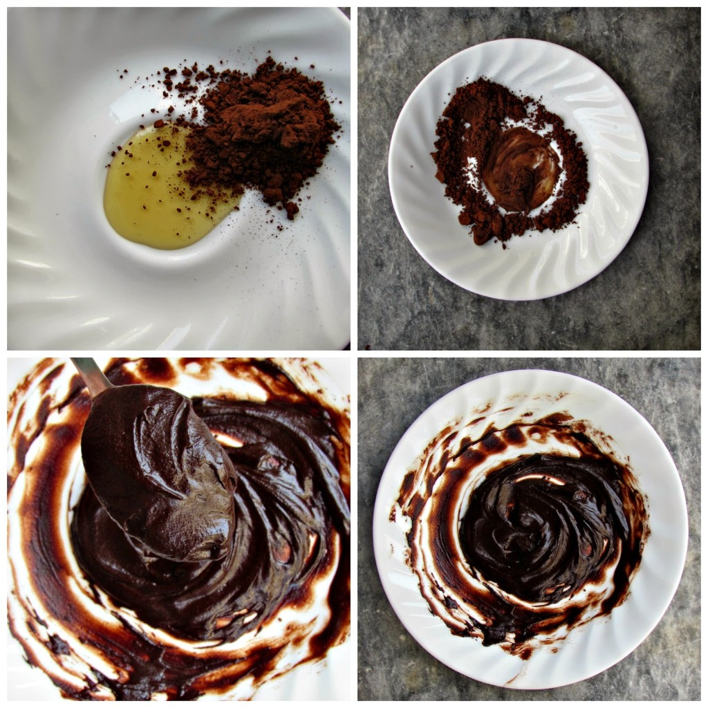 chocolate face mask how to