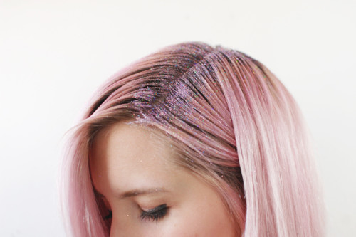 glitter-makeup-gif-tutorials-hair