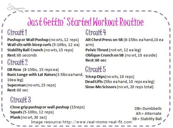 Change Your Workout Routine Simple Plan